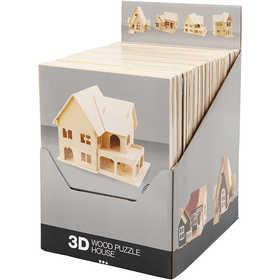 Bild von 3D-Bausatz aus Holz, Sperrholz, 24Stck. [HOB-57878]