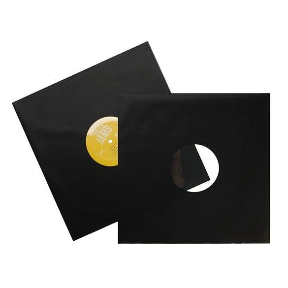Bild von 12 Inch Matte Black Album Sleeve (100 pcs) [BLPBM]