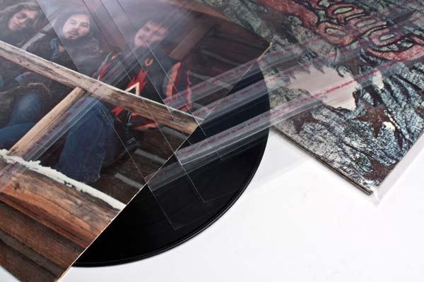 """Bild von 10"""" Außenhüllen LP/Doppelalbum Schutzhüllen 27 x 26,4 cm + Umschlag (100 Stück) [BLP10]"""