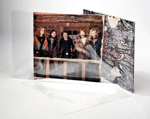 """Bild von 10"""" Außenhüllen Schutzhüllen ohne Umschlag 27 x 26,4cm (100 Stück) [BLP10NF]"""