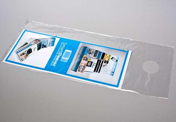 Bild von 25 Mikron LDPE Türbeutel 15,2 x 30,5cm (100 Stück) [DK5]