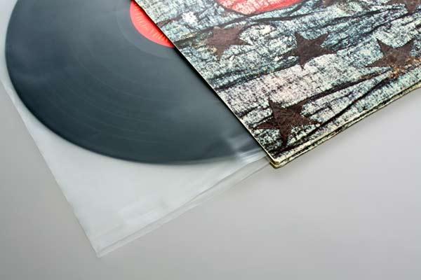"""Bild von 12"""" Innenhüllen Schallenplattenhüllen (auch Blake Sleeves) 30.6x30,5 cm. [BLPFS]"""