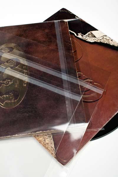 """Bild von 12"""" Außenhüllen doppele LP Albumhüllen (auch Blake Sleeves) 32.7x31.6 + 3.9 cm [BLPD]"""